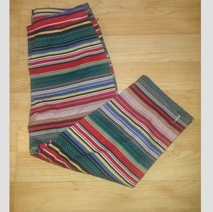 Unique Bettie Page Serape Capri